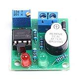 LM358 12V Carte Module de Protection de Batterie Chargeur Lithium sur Batterie Lithium Lithium Alarme Basse Tension Buzzer Lipo-Lion sous Tension avec Indicateur LED