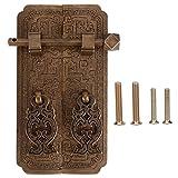 Ensemble de poignée de porte Style chinois Antique cuivre poignées de traction armoire penderie accessoire pour matériel de meubles d'armoires de cuisine