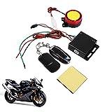 Système de sécurité anti-vol de moto de véhicule de vélo de système d'alarme à télécommande 12V, anti-détournement coupant le début de moteur à distance armant