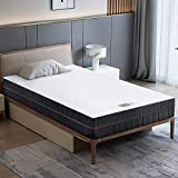 BedStory Matelas 90x190 en Mousse, 18 cm Épaisseur, Matelas 7 Zones Ergonomique avec Housse Amovible et Lavable, Hypoallergénique, Soutien Optimal, Confort, Fermeté H2 et H3 (90x190x18cm)