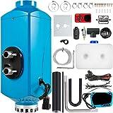 Mophorn Chauffage Diesel 12V 2KW Réchauffeur d'air diesel kit de réchauffeur d'air PLAN Bleu en aluminium carburateur en plastique pour voiture camions VR Croisières