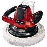 Einhell Polisseuse pour carrosserie sans fil sur batterie CE-CB 18/254 Li Solo Power X-Change (Livré avec deux bonnets)- VERSION SOLO, LIVRE SANS BATTERIE NI CHARGEUR