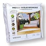 Time for life essential Protège Matelas imperméable - Bambou Lyocell - 160x200 - Haute qualité - Silencieux - Bonne Tenue - Forme Drap Housse - Bonnets XL - Ebook Offert - Alèse Douce & Confortable