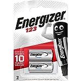 Energizer 123 Piles Photo au Lithium, Lot de 2