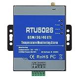 Alarme GSM, alerte SMS, système d'alarme de température par télémétrie, plastique ABS 100-240 V, télécommande de prise en charge de mesure, pour la surveillance du cloud(EU PLUG)