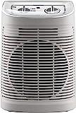 Rowenta SO6510F2 Radiateur et Ventilateur Soufflant Instant Comfort Aqua Chauffage d'Appoint Salle de Bain Ventilation Chaud Froid 2 Vitesses 2400W Silencieux Gris