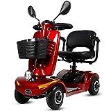 Fauteuils Roulants Scooter électriques Pliables Pour Adultes,chaise Roulante Pliante Legere Pour Handicapé,fauteuil De Transfert De Voyage Manuel Ou Utilisation Comme Wheelchair Electric