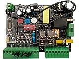 carte électronique, armoire de commande Universelle pour Portail Automatique Coulissant Compatible avec FAAC, Nice, Sommer, BFT,