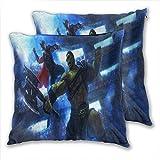 anzonto Lot de 2 housses de coussin pour canapé Andy Park Thor Ragnarok 45 x 45 cm