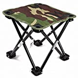 EKKONG Ultraléger Chaise Pliante Portable pour Camping/Pêche/Randonnée/Pique-Nique