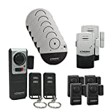 Doberman security Lot de 13 Porte Alarme, Idéal pour Home Office, Kit de sécurité