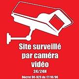 SITE SURVEILLE par Camera