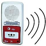 Axendis - Tableau Alarme Incendie Type 4 Radio Flash (réf.11201)