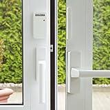 easymaxx 02481 Security Alarme de Porte et fenêtre avec télécommande Blanc 110 DB