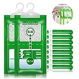 Creativee Lot de 8 sacs de déshumidification suspendus pour armoire, placard, sac anti-humidité et anti-humidité pour cuisine, salle de bain