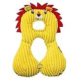 Outgeek Coussin pour Bébé Babys, Oreiller De Voyage Owl Grenouille éléphant Donkey Lion Chien en Forme d'oreiller pour Voiture