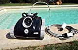 ORCA - Robot Piscine Orca 050 - Robot Nettoyeur Fond - Autonome - Compatible Tout Revêtement - Accès Au Sac Par Le Dessus - Robot Piscine ORCA 50 - Pour Piscine jusqu'à environ 36m3
