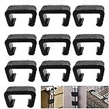 RMENROOR Lot de 10 clips de fixation extra solides en polyrotin pour meubles de jardin, module extérieur, canapé, patio, meubles