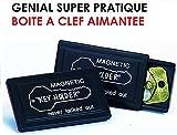 LCM2014 Pratique Lot DE 2 BOITES A CLEFS AIMANTEES ! Vos Doubles DE CLEZ Bien CACHEES dans Votre Voiture ! Raid Preparation 4X4