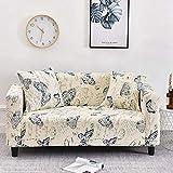 Housse de canapé élastique Housses de canapé à Carreaux pour Salon entièrement Enveloppant canapé Housse de Chaise Fauteuil Anti-poussière Meubles Protecteur A10 1 Place