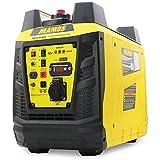 Groupe électrogène à onduleur portable à essence YF2000i, alimentation propre 2300 watts/1900 watts, ultra silencieux et léger