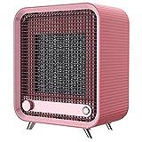 Kxlqh Réchauffeur d'espace pour usage intérieur, chauffage électrique en céramique à chauffage rapide 800 W avec thermostat, protection contre la surchauffe et le renversement, chauffage portable osci
