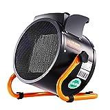 XHMCDZ Espace chauffage électrique à air pulsé en céramique petits chauffe avec thermostat réglable Portable 2000W Mini réchauffeur d'air