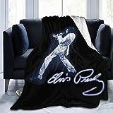 Lphdfoxh1 Elvis Housse de couette en flanelle Convient pour tous les canapés, bureaux, doux et confortable