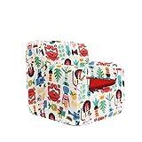 SleepAA Fauteuil pour Enfant 1-4 ans   40 x 40 x 42 cm   Déhoussable et Lavable en machine à laver   petit Canapé Stable   Confortable et Évolutif pour enfant