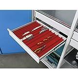 Godet pour petites pièces - pour l x p tiroirs 450 x 540 mm - hauteur tiroirs 60 mm - accessoires armoire armoire pour charges lourdes armoire à tiroirs armoires armoires pour charges lourdes
