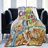 Générique Personnalisé Couvertures Compatible avec Cinna Couverture Mon en Micro Toast Poils Crun Super Douce ch adaptée à Toutes Les Saisons 125cmX100cm