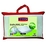 Dodo Vegetal Oreiller Uni Ergonomique Blanc 40 x 60 cm