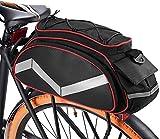 WYZQ Sacoche arrière de Grande capacité, Sac de vélo de Montagne Sac de Queue d'équitation Sac de Sacoche de vélo 13L Sac Isotherme de Coffre isolé Multifonctionnel, Sac de siège