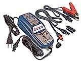 Tecmate OptiMate 4 Chargeur de batterie avec système CAN Bus pour BMW Entretien approfondi de batterie 12 V Avec connecteurs SAE