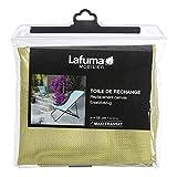 LAFUMA MOBILIER Toile Batyline pour Chaise Longue Maxi Transat, Largeur: 58 cm, Couleur : Étamine, LFM2655-9267
