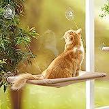 Fenêtre de lit de chat, lit de siège de fenêtre de chat Hamac Design peu encombrant 1pcs ventouse supplémentaire