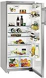 Réfrigérateur 1 porte Liebherr KSL3130 - Réfrigérateur 1 porte - 297 litres - Froid brassé - Dégivrage automatique - Gris métal - Silver - Classe A++ / Pose libre