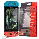Orzly Lot de 2 films protecteurs d'écran en verre trempé pour Nintendo Switch 6,2 pouces