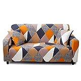 Feilaxleer Housse de canapé Extensible 4 Places avec 1 Housse de Coussin,Revêtement de Canapé,K