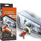 Plextone Kit de réparation de phares pour Bricolage de Phare éclaircisseur de Voiture Kit de réparation de Lampe de Nettoyage (Automatic) (Auto) 1
