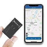 MUXAN Mini Traceur GPS Enfant Alarme d'urgence SOS Positionnement en Temps réel Mini Tracker GPS Espion pour Objets de Valeur Personne Âgée Moto Velo Véhicule TK921