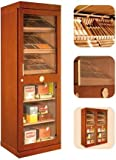 Armoire à Cigares Adorini Roma (acajou) - vitrine armoire à cigares électronique