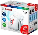 Bosch Hausgeräte BBZ16GALL PowerProtect Lot de 16 sacs d'aspirateur avec fermeture Compatible avec toutes les séries sauf BSG8, BSN1