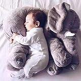 Charmant Tête plate, façonnage de la tête, anti-reflux, plagiocephalie, babycare, nouveau-né bébé oreiller éléphant apow oreiller enfants bébé literie douce bébé oreiller coussin coussin peluche cadea