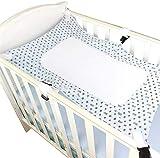 Alittle Harnais de lit pour bébé Lit de bébé respirant Berceau de bébé Portable Sûr et confortable Hamac de lit de sécurité pour bébé (sans cadre de lit)