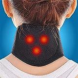 Comtervi Auto-échauffement Protecteur de Cou Douleurs Chroniques du Cou Support de Cou et Nuque pour Soulager Les Douleurs Musculaires et Cervicales