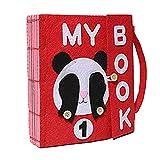 Per Soft Books de Montessori Apprentissage de la Confection d'objets et de Connaissances d'objets de Bricolage pour Un Livre de 1-3 Ans