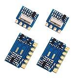 PEMENOL Lot de 2 modules émetteurs 433 MHz - 2 modules émetteurs H34A + 2 modules récepteurs H3V4F - 433 MHz - Sans fil - Module de récepteur pour Arduino Raspberry Pi