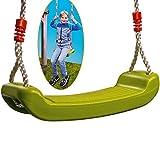 Edco Siège de balançoire Bords arrondis Ajustable de 120cm à 200cm - Max. 100kg