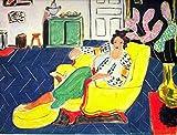 YaShengZhuangShi Œuvre d'art Peinture 30 x 50 cm sans Cadre Chaise Henri Matisse - Film Movie Poster - Meilleur Impression Art Reproduction qualité décoration Murale Cadeau - Une Affiche